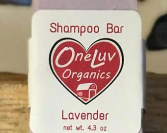 OneLuv Lavender Shampoo Bar