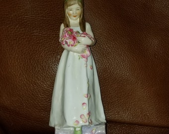 Royal Worcester The Bridesmaid Freda Dougherty Early  c.1940