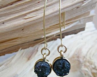 Druzy Earrings, Geode Earrings, Druzy Stone Earrings, Druzzy Earrings, Druzy Dangle Earrings, Druzy Drop Earrings, Druzzys, Bridesmaid Gift