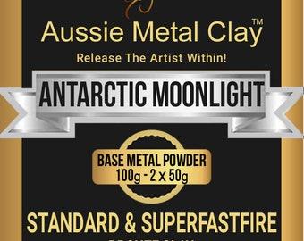 Aussie Metal Clay SuperFlex Antarctic Moonlight 100 grams / White Bronze Metal Clay / Silver Bronze Metal Clay
