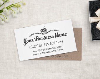 Business card stamp etsy custom business card stamp custom business cards or etsy shop stamp custom stamp by colourmoves