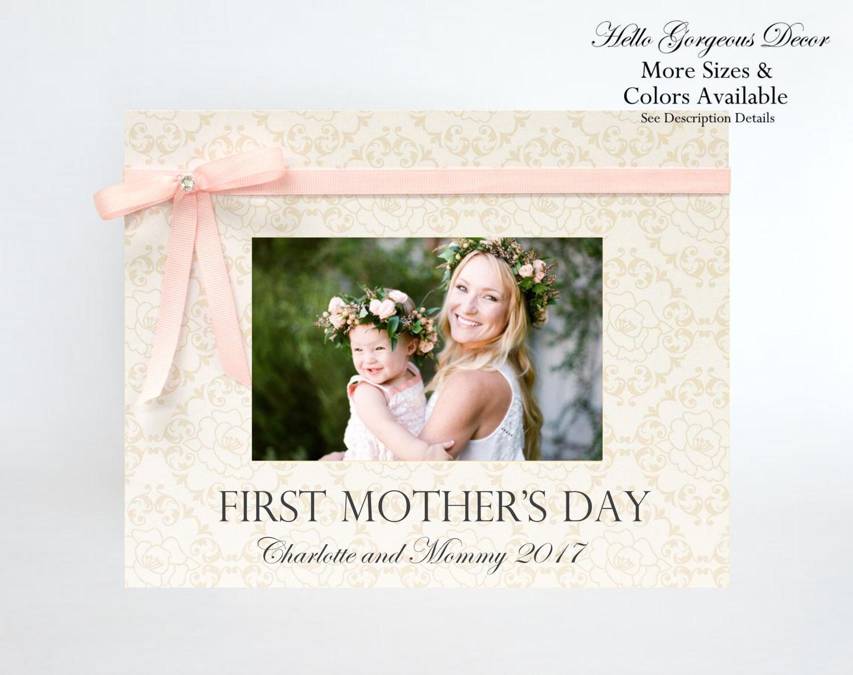 ERSTE Mutter Tagesgeschenk für Mama Mutter Bilderrahmen