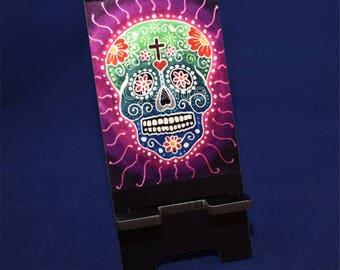 Phone Stand with Original Art
