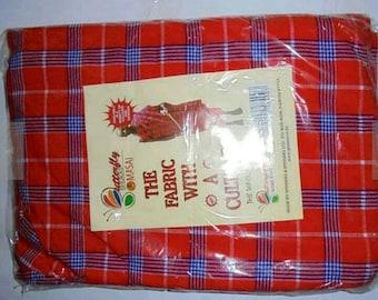 Maasai fabric, Maasai kikoy, Maasai shuka