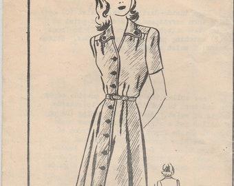 Mail Order Alden House Dress Pattern 4007