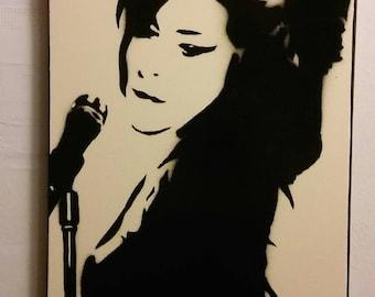Amy Winehouse (Ivory)