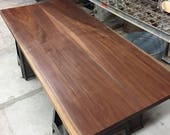 Hardwood. Black Walnut. S...