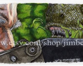 Jurassic Park - Clever Girl Poster Print