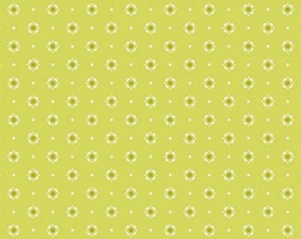 1/2 yd Dreamin Vintage Bloomery Citronelle by Jeni Baker for Art Gallery Fabrics DV-60021