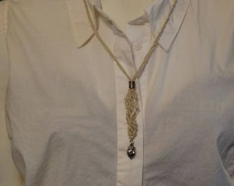 White Interchangeable Necklace