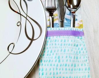 Place Setting- Silverware holder – Utensil Holder – Table Decor – Table Settings - Housewarming Gift – Gift for Her - Spring Decor