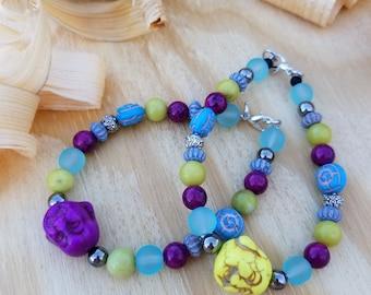 Happy Buddha bracelet, Buddha bracelet