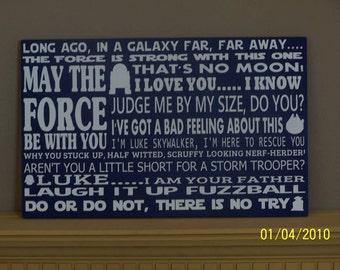 Star Wars Subway Art, May The Force Be With You, Movie Subway Art, Yoda, Darth Vader, Galaxy Far Far Away