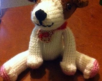 Amigurumi Jack Russell Pattern : Jack russell terrier crochet pattern crochet dog pattern