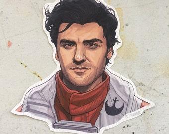 Poe Dameron STAR WARS Sticker
