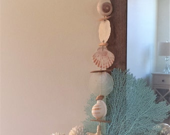Beach Garland, Beach House, Coastal Decor, Shell Garland, Beach Decor, Shell Garland, Starfish Garland, Beach Wall Decor