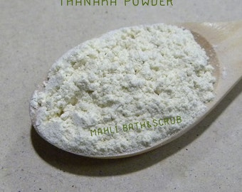 Pure Thanaka Powder, 100% Natural, DIY Facial Mask, Body Scrub, Soap For All Skin types