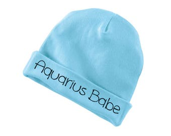 Aquarius Babe Cotton Beanie For Infants