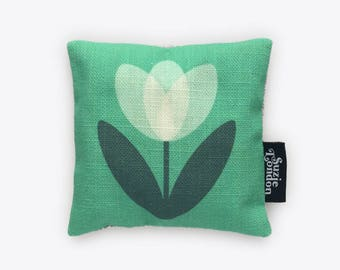 White Tulip Lavender Bag in Mint