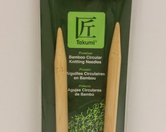 Clover Takumi Bamboo Premium Circular Knitting Needles Size 15 (10mm) 29 inches (74 cm) long