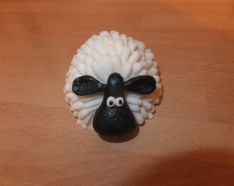 1 large edible 3d sheep fondant cake decoration for a special occasion