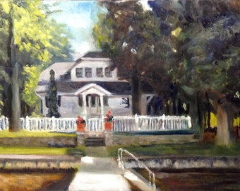 Custom Oil of YOUR Home or Cottage