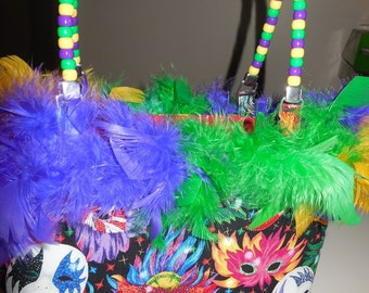 Mardi Gras purse