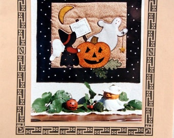 Angel Verses - Pumpkin Patch Sue By Needleart Guild Vintage Quilt Pattern Packet 1995