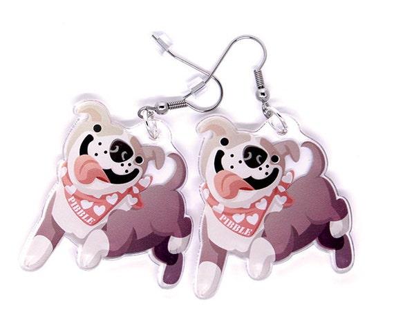 Great Pitbull Anime Adorable Dog - il_570xN  Picture_479112  .jpg?version\u003d1