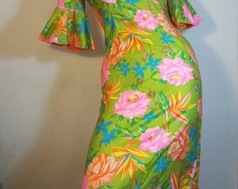 FREE  SHIPPING   Alice  Hawaiian  Dress