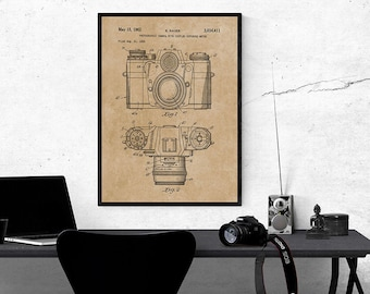 Lego patent print lego bricks blueprint lego art lego poster camera patent print camera blueprint art camera wall art camera design camera decor photography wall art photographer gift instant download malvernweather Gallery