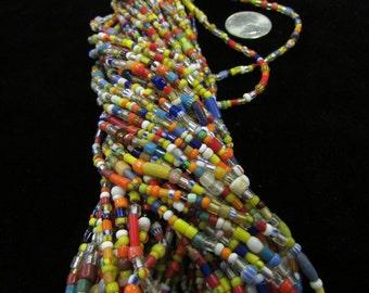 African Christmas Bead Strand