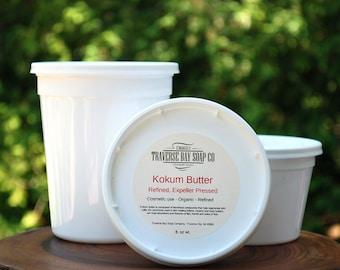 Kokum butter, 32oz, 2 pounds. Soap making, lotion,creams,massage oil, bath, beauty, lip balm, 2 pound  WEIGHT