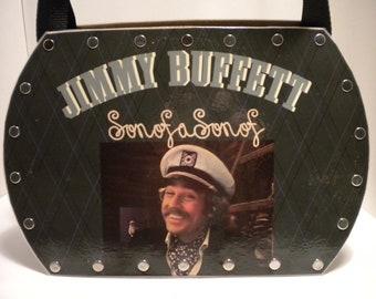 Jimmy Buffett.......Son of a Son of a Sailor ......Record Album Purse