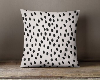 Abstract Dots Pillow Cover