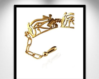 Eye of Horus bangle _ eye of Udjat gold bracelet