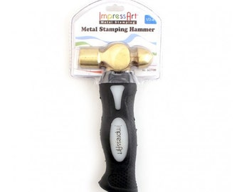Metal Stamping Hammer Jewelry Hammer Impressart 1/2 pound Hammer Professional Stamping Tools