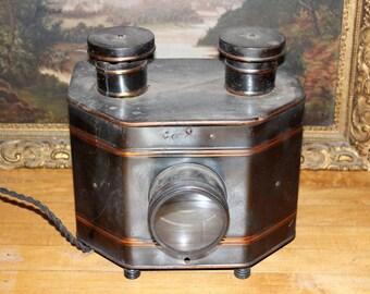 Antique Magic Lantern Slide Viewer Projector