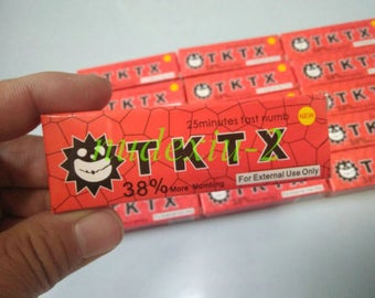 TKTX 38% Stronger RED Numbing Tattoo Body Anesthetic Fast Skin Numb Cream UK