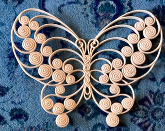 Vintage Butterfly Decor, Burwood Products Company