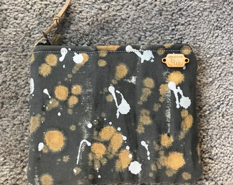 Hand painted pouch Medium