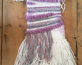 Handmade woven wall hanging for home decoration