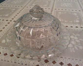 Windsor covered butter dish
