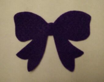 Bow felt ornament - felt board, Christmas activity for toddlers, Kids Christmas gift, felt activity