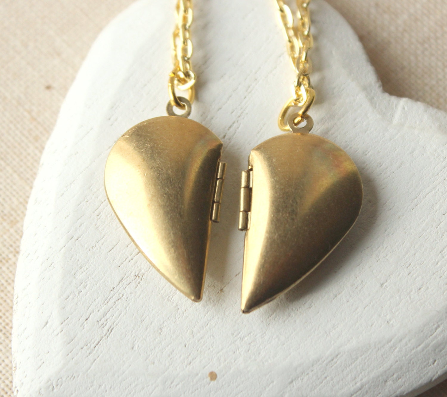 locket minimalist necklace gold lockets img sterling in n chic products brass pb polygon super sided plated with