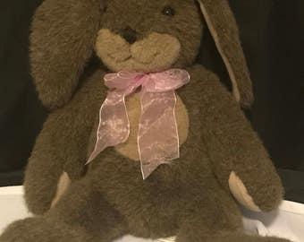 Vintage Toy Bunny Rabbit Plush by Dakin Easter Bunny SALE PRICE was 14.99 now 12.00