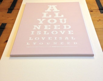 "All you need 16""x20"" wall canvas"