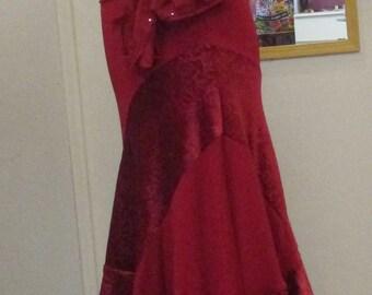Evening or Gypsy Flamenco skirt