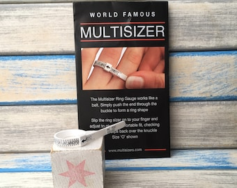 Multisizer - universal size guide