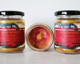 House Lannister 200ml Candle